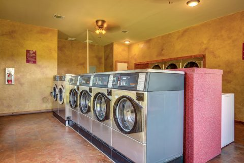 State-of-the-art laundry facility
